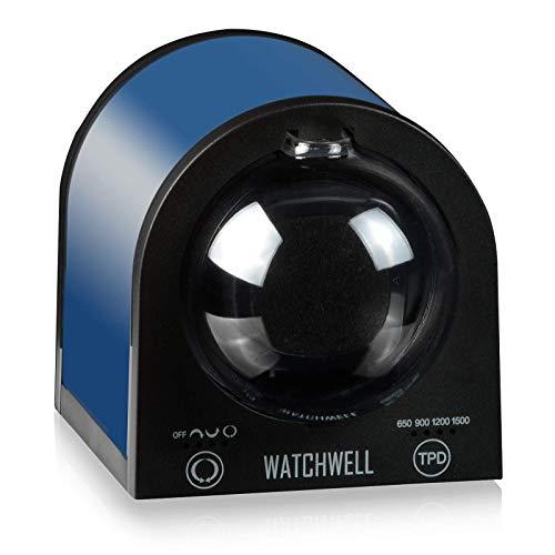 Watchwell® Uhrenbeweger Senator Blau/Schwarz für 1 Automatikuhr