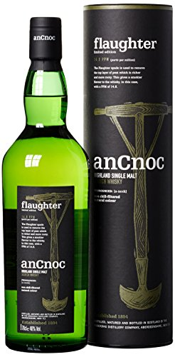 An Cnoc Flaughter Limited Edition 14.8 ppm Whisky (1 x 0.7 l)