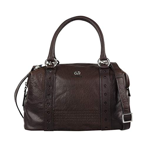 Gerry Weber Bilbao Leder Bowling Bag Handtasche Schultertasche Tasche 4080003306