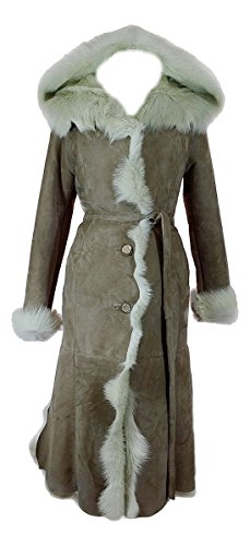 DX Leather Products -  Cappotto - Donna Beige Medium