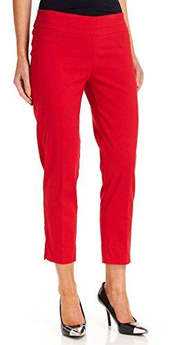 Zac & Rachel Women's Millenium Ankle Pants, Red Ginger, 10