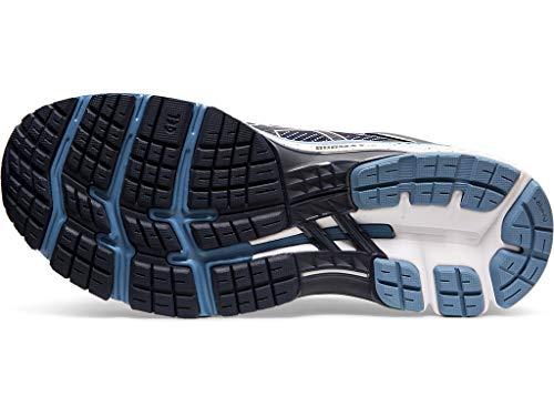 ASICS Men's Gel-Kayano 26 (2E) Running Shoes, 10W, Midnight/Grey Floss 9