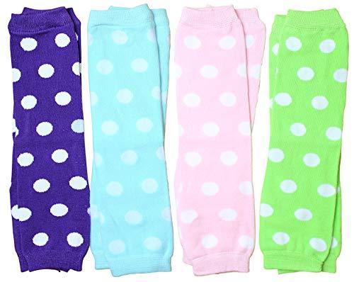 Bowbear Little Girls 3 Pair Polka Dot Socks