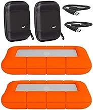 LaCie 2 Pack 4TB Rugged Mini USB 3.0 2.5