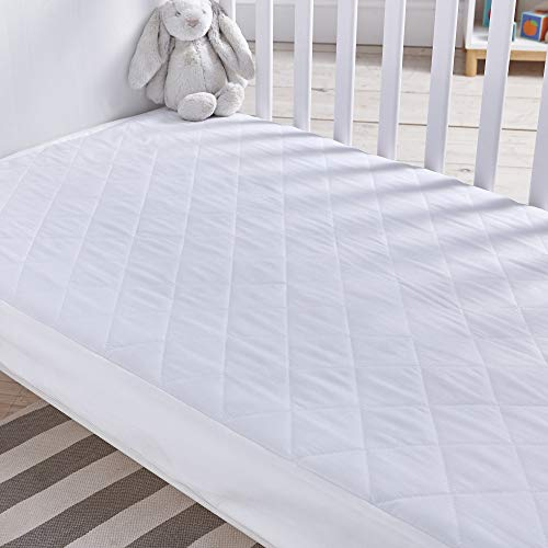 Silentnight Safe Nights Quilted Cot Bed Waterproof Mattress Protector