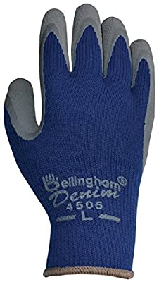 Bellingham Denim Insulated Work Gloves, Warm and Comfortable