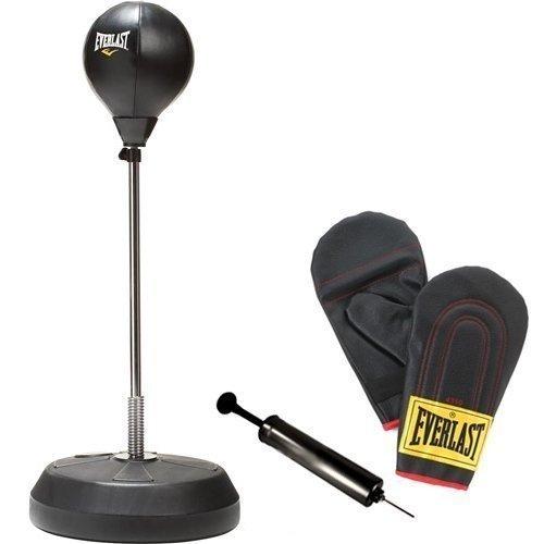 Everlast Boxsack-Ständer Kit mit Handschuhe und Pumpe