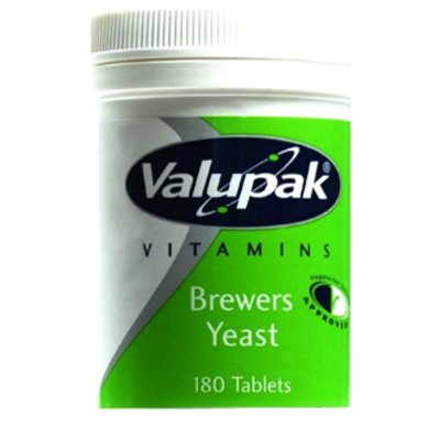 Valupak Brewers Yeast 300mg 180