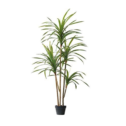 Fevilady Kunstbäume Nordic Drachenblut-Baum Künstlicher Baum New Große Grün Pflanze Bonsai-Fälschungs-Bäume Künstliche Pflanze Home Decoration Kunstpflanze (Color : B)