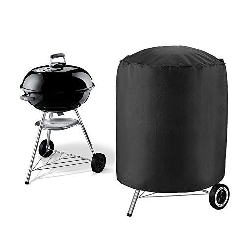 IZUKU Copertura Barbecue a Cupola Impermeabile Telo Protettivo per BBQ Grill Anti Pioggia Polvere Sole Neve Tessuto Oxford 73x73x71cm per Weber …