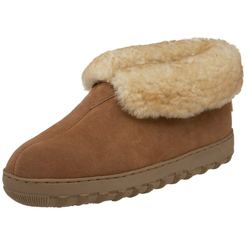 Tamarac by Slippers International Men's 8010MW Highlander Shearling Slipper, All Spice, 10 M