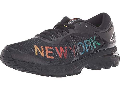 ASICS Women's Gel-Kayano 25 NYC Running Shoes, 8.5M, Black/Black