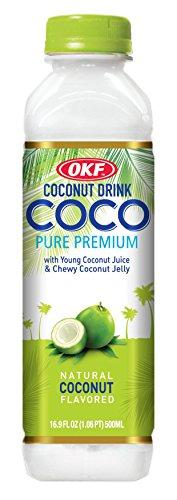 OKF Coco Pure Premium, Original, 16.9 Fluid Ounce (Pack of 20)