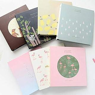 BLG Pink Sparrow 6 Inch 100 Pockets Mini Instant Polaroid Photo Album 15.2x10.2CM Picture Case Storage Fujifilm Instax Mini Card Insert Album Hot