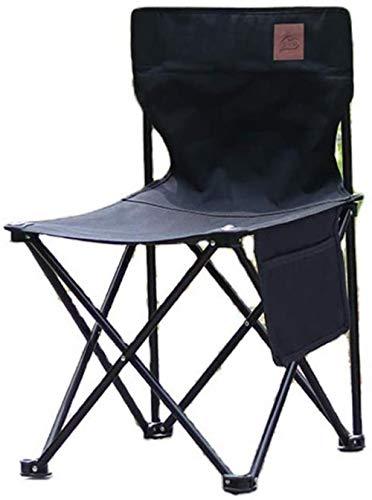 Ocio al aire libre de bocetos, silla del portátil de la pesca...