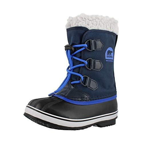 Sorel Kinder Childrens Yoot Pac Nylon Stiefel, blau (collegiate navy)/blau (super blue), Größe: 28