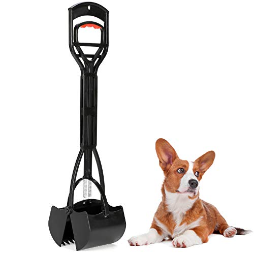Dogit Jawz Dog Waste Scooper, Dog Pooper Scooper for Grass and Gravel Easy Pick Up, D127