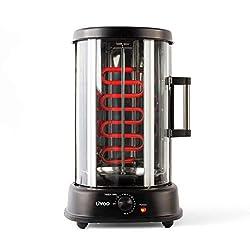 LIVOO DOM323 Grill Vertical pour Kebab, Poulet Rôti 2,5 Kg, Brochettes | Rôtissoire Rotatif, Diffusion Homogène de la Chaleur | 1500W: Amazon.fr: Cuisine & Maison