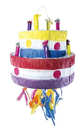 P'TIT Clown re82092 - Pinata gâteau d'anniversaire