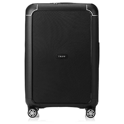 Tripp Black Medium Supreme 4 Wheel Suitcase