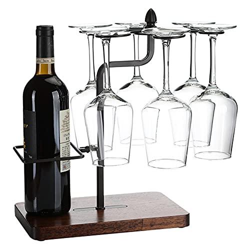 YaNanHome Estantería de Botellas, Estante de Vino de Encimera, Estantería de Botellas de Vino para Estantes de Presentación de Cocina y Barra de Vino/A