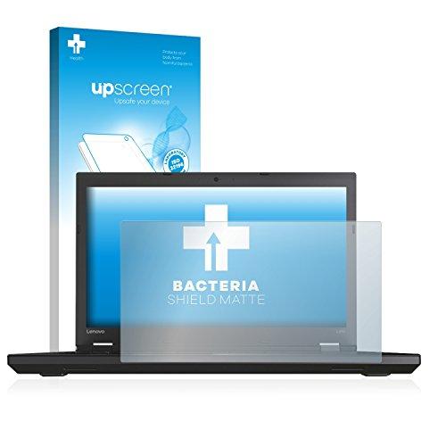 upscreen Antibakterielle Entspiegelungs-Schutzfolie kompatibel mit Lenovo ThinkPad L570 - Anti-Reflex Bildschirmschutzfolie matt, Anti-Fingerprint