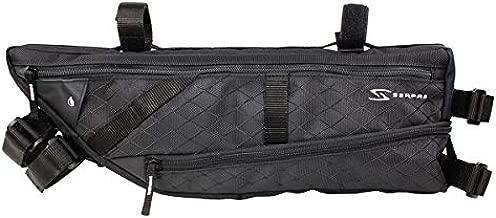 Serfas Ark Expandable Half-Frame Bicycle Bag (Black)