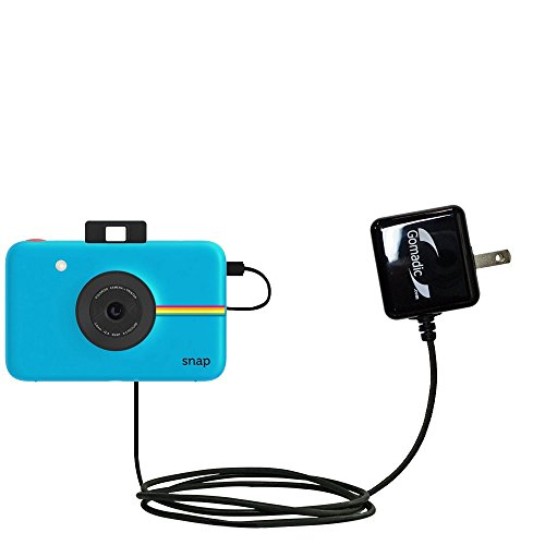 Gomadic High Output Home Wall AC Charger Designed for The Polaroid Snap with Power Sleep Technology - Intelligently Designed with Gomadic TipExchange