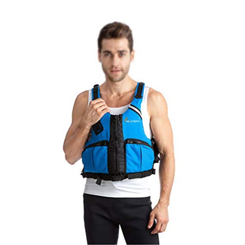 Cheap Tuuertge Life Vest and Jacket Professional Life Jacket Adult Snorkeling Vest Thickened Buoyanc...