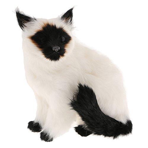 Fenteer Vivid Arts - Animals of Real Life Seduta Siamese Cat