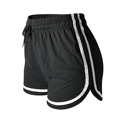 VALINNA Women's Athletic Yoga Running Workout Shorts Lounge Short Pants (S/M (24