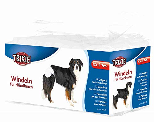TRIXIE 12 Pañales Perros ultra absorbentes, XS-S, Perro