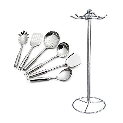 Edelstahl-Küche-Set 7-teilig