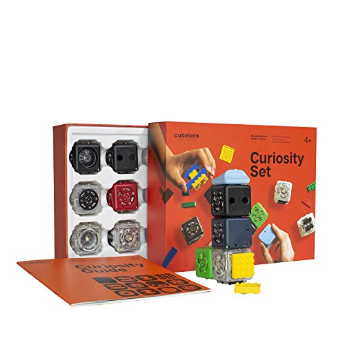 Modular Robotics Cubelets Robot Blocks - Curiosity Set - Kids Coding Robots, Learn STEM Concepts, Ages 4+