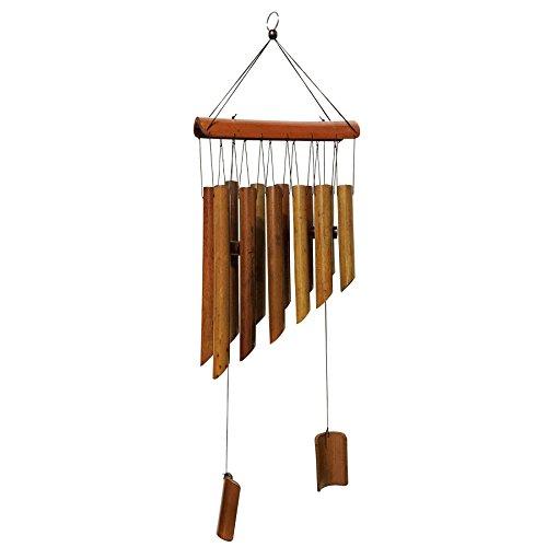 Carillon Maymii - 65 cm - 12 tubes en bambou - Feng Shui