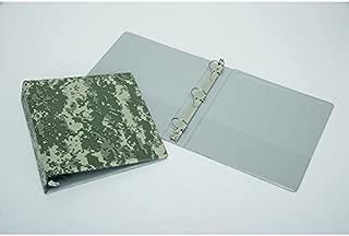 3-Ring Camouflage Binder - Capacity 1-1/2