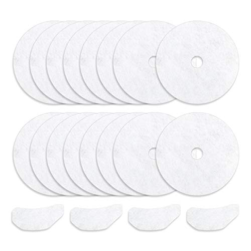 20 Pieces Cloth Dryer Exhaust Filter Set Replacement for Sonya, Panda, Avant, Magic Chef Dryers