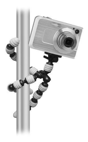 Flexible Gripster Camera Tripod For The Sony Cybershot DSC-WX9, TX10, TX100V, W570, W560, W530, W510 Digital Camera