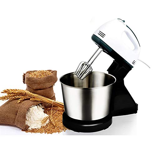 QWERTOUY elektrische mixer tafel & stand cake kneedmachine egg beater mixer slagroom machine food processor