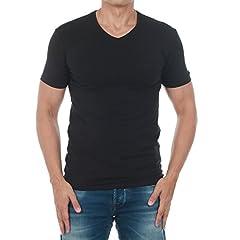 Camiseta Guess Negro Manga Corta para Hombre M73I55J1300-A996