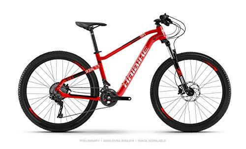 HAIBIKE SEET HardNine 2.0 Mountain Bike 2020 (M/45cm, Rot/Schwarz/Weiß matt)