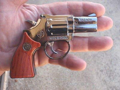 WBD Mini Gun with Laser Butane Gas Cigarette Lighter