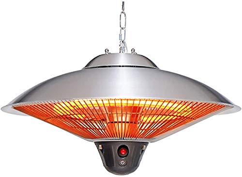 Infrarot-Heizung 2200W , Heizung Und Beleuchtung auf Der Terrasse Oder Im Pavillon , Halogenheizung , Innen und Außen