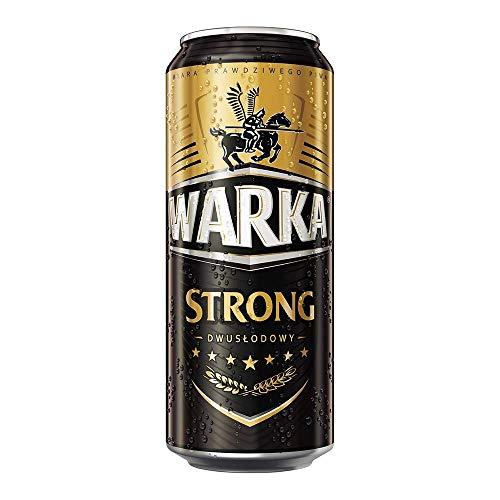 12 Dosen Warka Strong Dwuslodowy Bier a 0,5L Polen inc. 3,00€ EINWEG Pfand 6,5% Vol.