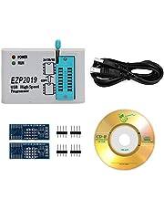 Programador SPI USB,SPI programmer Compatibilidad 32M Flash 24 25 93 EEPROM 25 bios 25T80 flash Win7 Win8,EZP2019