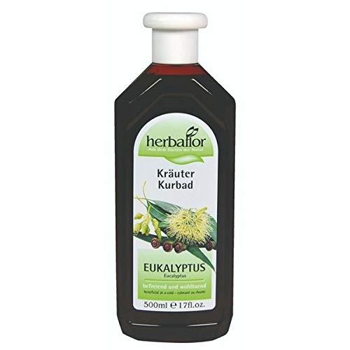 Johanna Straub Cosmetics Pflege Herbaflor Kräuterbad Eukalyptus 500 ml