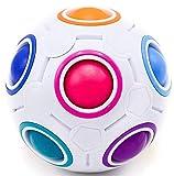 CUBIXS® – Regenbogenball – Geschicklichkeitsspiel für Kinder und Erwachsene – tolles...