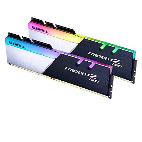 G.SKILL Trident Z Neo (for AMD Ryzen) Series 32GB (2 x 16GB) 288-Pin RGB DDR4 SDRAM Desktop Memory F4-3600C18D-32GTZN