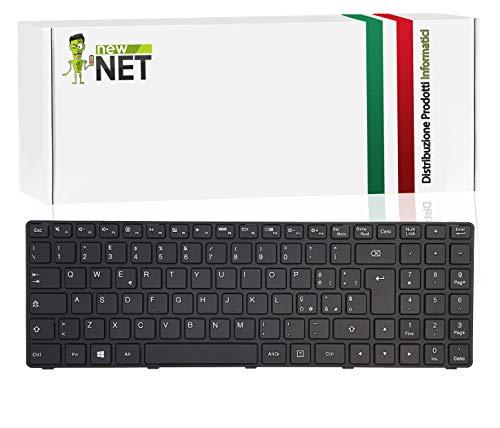 New Net Keyboards - Tastiera Italiana Compatibile per Notebook Lenovo Ideapad B50-50 B50-80S 100-15Series 100-15IB 100-15IBD 100-15IBG 100-15ISK-ITH IBD-80QQ L80QQBlack