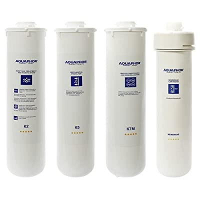 Aquaphor Water Filters Replacement Cartridges for Aquaphor RO-101 Reverse Osmosis System